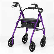 4 Wheeled Walker - Purple